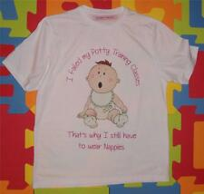 "ADULT BABY SISSY T-SHIRT ""POTTY TRAINING FAILURE"""