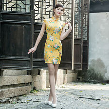 Asian Traditional Chinese Clothing  Cheongsam Qipao Dress