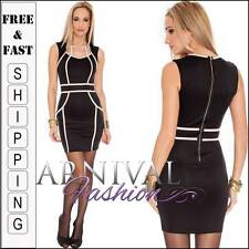 NEW SEXY BLACK CLUB DRESS 6 8 10 CLUBBING DRESSES XS S M womens clubwear online
