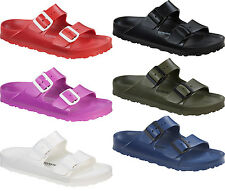 Birkenstock Arizona EVA Rubber Sandals Lightweight New Colors and Sizes Vegan
