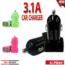 12V Dual 2 Port USB Universal Car Charger For iPhone 5 6S iPad SAMSUNG S6 HTC LG