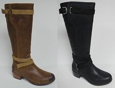 UGG AUSTRALIA DARCIE EQUESTRIAN STYLE RIDING BOOTS KNEE HIGH DISTRESSED LEATHER