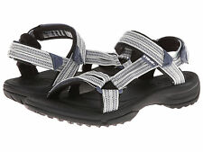 Teva Womens 1001474 DZGR Terra FI Lite Velcro Water Sport Slide Sandals [ Grey ]