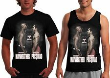 $5 Manny Pacquiao Vs Floyd Mayweather Boxing Tale of the Tape T shirt & Tank NEW