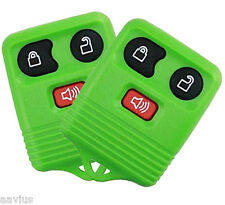 Best Replacement Keyless Entry Remote 3 Button Key Fob For Ford Car Truck GREEN