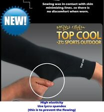 Arm Sleeve Cooling Cover UV Sun protective Stretch Armband bike sport skin cool