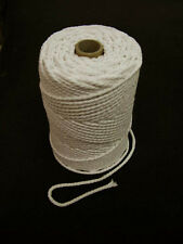 3 4  5 & 6 mm NATURAL COTTON PIPING CORD UPHOLSTERY CUSHIONS SOFT FURNISHINGS A