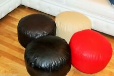 Faux Leather Bean Bag Foot stool