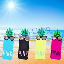 3D Mr.Pineapple Summer Style Soft Silicone Case Skin Cover for iPhone 5 5s 5c