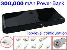 300000mAh Rechargeable External Battery Charger Portable Power Bank for iPhone6
