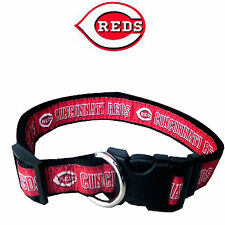 MLB Fan Gear CINCINNATI REDS Nylon Collar for Dog Dogs Puppy Puppies