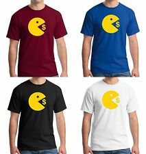 $5 Manny Pacquiao Wears Pac-Man Eating Money Shirt Training for Floyd Mayweather