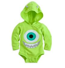 Disney Store Monsters inc Mike Baby Costume Outfit 0-3 3-6 6-9 12-18 18-24 Month