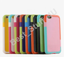 Hybrid Colourful TPU GEL Soft Case Cover  FOR SMARTPHONES  FREE PROTECTOR