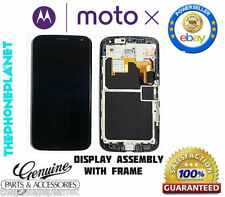 Motorola™ Moto X Display Assembly Touch Screen LCD with Frame (Black/White)