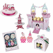 Princess Girls Birthday Party Cupcake Cases, Cake Stands & Kits!! Meri Meri