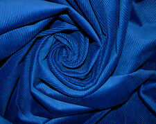 ROYAL BLUE 11 WALE CORDUROY FABRIC 100% COTTON MATERIAL 110CM WIDTH - CLEARANCE