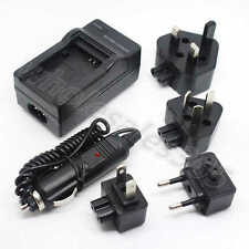 Power Charger For EN-EL10 Olympus Li-40B Fuji NP45 Battery Wall+Car Home Travel