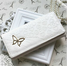 Womens Purses Large Ladies Wallets Coin Girls Credit Card Holder Faux Leather