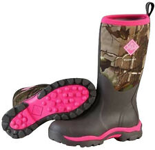 Muck Boot Company Womens Woody Max Hunting Boots Hot Pink/Realtree
