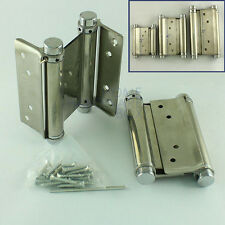 Double Action Hinge Saloon Cafe Western Swing Door Adjustable Spring Tension