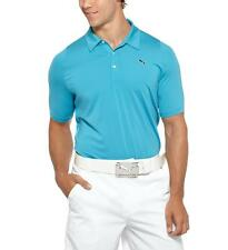 Puma Golf Duo-Swing Mesh Polo Blue Was $75 #3780