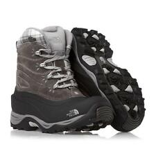 The North Face Chilkat II 2 Womens Snow Boots Shoes Gray Black Winter Waterproof