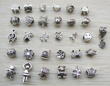 CHARMS BEADS BRACCIALI COMPATIBILI PANDORA IDEA REGALO PANDORA COMPATIBLE