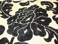 DURALEE 71013 Designer Chenille Floral Fabric Remnant Crafting Pillows