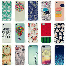 Cute Design Paint Pattern Phone Hard Back Skin Case Cover For Apple iPhone 4S 5S