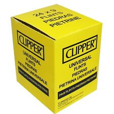 9 CLIPPER UNIVERSAL FLINTS FOR ZIPPO PETROL/GAS & MANY OTHER LIGHTERS.