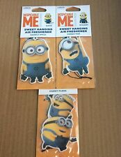 Despicable Me Minion Air Freshener Car Hanging Dave Stuart Jerry Hanger Scented