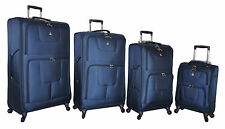 Aerolite London Collection EXTRA LIGHT suitcases-navy