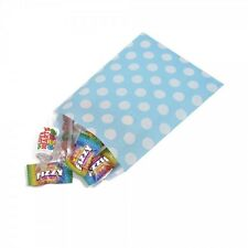 """Aqua or Pink  Polka Dot Design Sweet / Gift / Party Paper Bags - 5"""" x 7"""