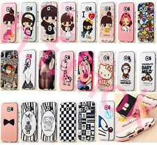 Newst!Combo Soft Case Cover&Frame For Samsung Galaxy S6/S6/S5/Note4/G313/J1/G355
