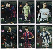 Limited Edition UPDATE Cards - Panini Champions League 2014/2015 ADRENALYN XL