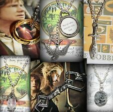 The Hobbit Lord of the Rings Inspired Charm Necklace Thorin's Key Earendil Star
