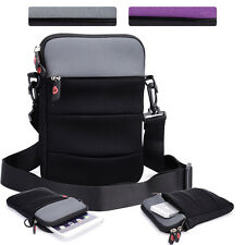 KroO NDR2-4 7 in Convertible Protective Tablet Sleeve and Shoulder Bag Cover