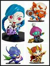 New LOL League of legends Jinx Khazix Gragas Jax Leona Game Figure Toy no box
