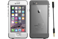 """Genuine White Lifeproof nuud Waterproof Tough Case Cover for iPhone 6 Plus 5.5"""""""
