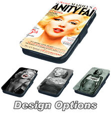 Marilyn Monroe - Printed Faux Leather Flip Phone Cover Case