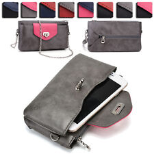 Womens Fashion Wallet Case Cover & Crossbody Purse for Smart Cell Phones EI64-7