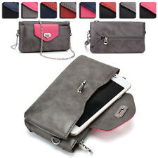 Womens Fashion Wallet Case Cover & Crossbody Purse for Smart Cell Phones EI64-17