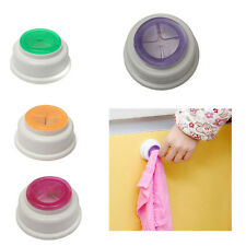 Color Rubber Self-Adhesive Back Pad Cloth Tea Towel Holder Push In Kitchen Bath
