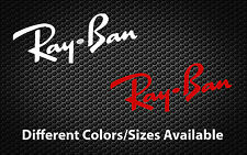 Ray Ban Sticker Sun Glasses Car Truck Window Decal Vinyl