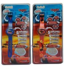 Kids Official Disney Cars Red Blue Wrist Time Watch Brand New Gift