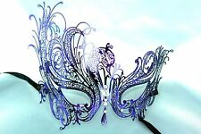 Metal Swan Masquerade Ball mask Costume Prom birthday Bachelor Graduation Party