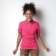Ladies Polo Shirt Womens Short Sleeve Casual Golf Plain Top - Kate By Kustom Kit