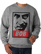 BOB Sweatshirt. Inspired by the cult 90's TV series Twin Peaks, OBEY style print