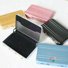 Aluminum Safe Suitcase Briefcase Business Credit Bank Card Holder Case CCAA-0756